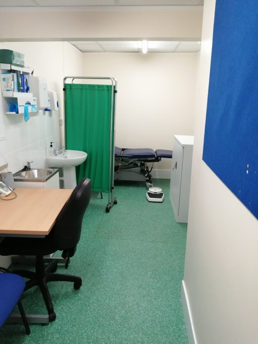 image of gp consultation room
