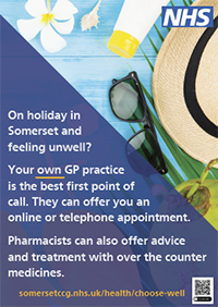 Choose Well holiday poster